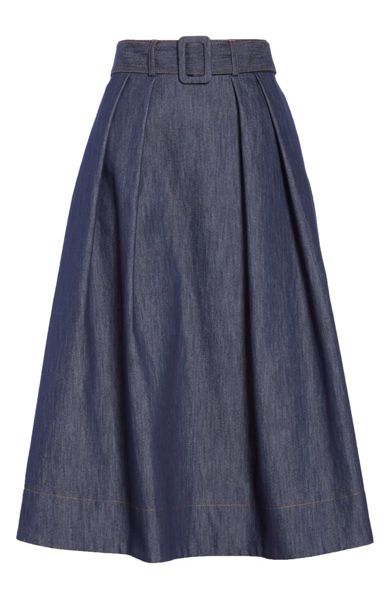 Tommy x Zendaya Belted Denim Skirt (Nordstrom Exclusive) | Nordstrom