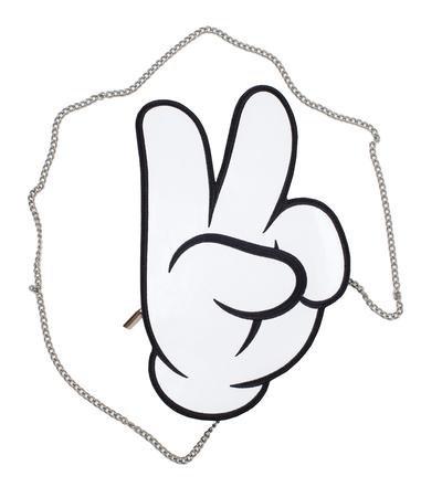 Peace Mickey Glove Cross Body Purse - Cakeworthy