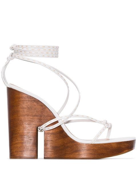 Jacquemus Strappy Wedge Sandals - Farfetch