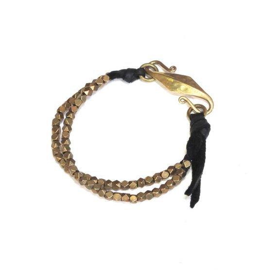 Black Cord Bracelet