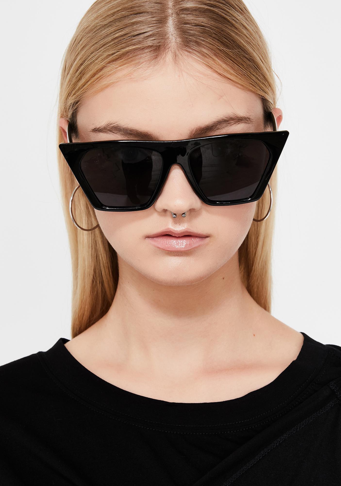 Oversized Cat Eye Sunglasses | Dolls Kill