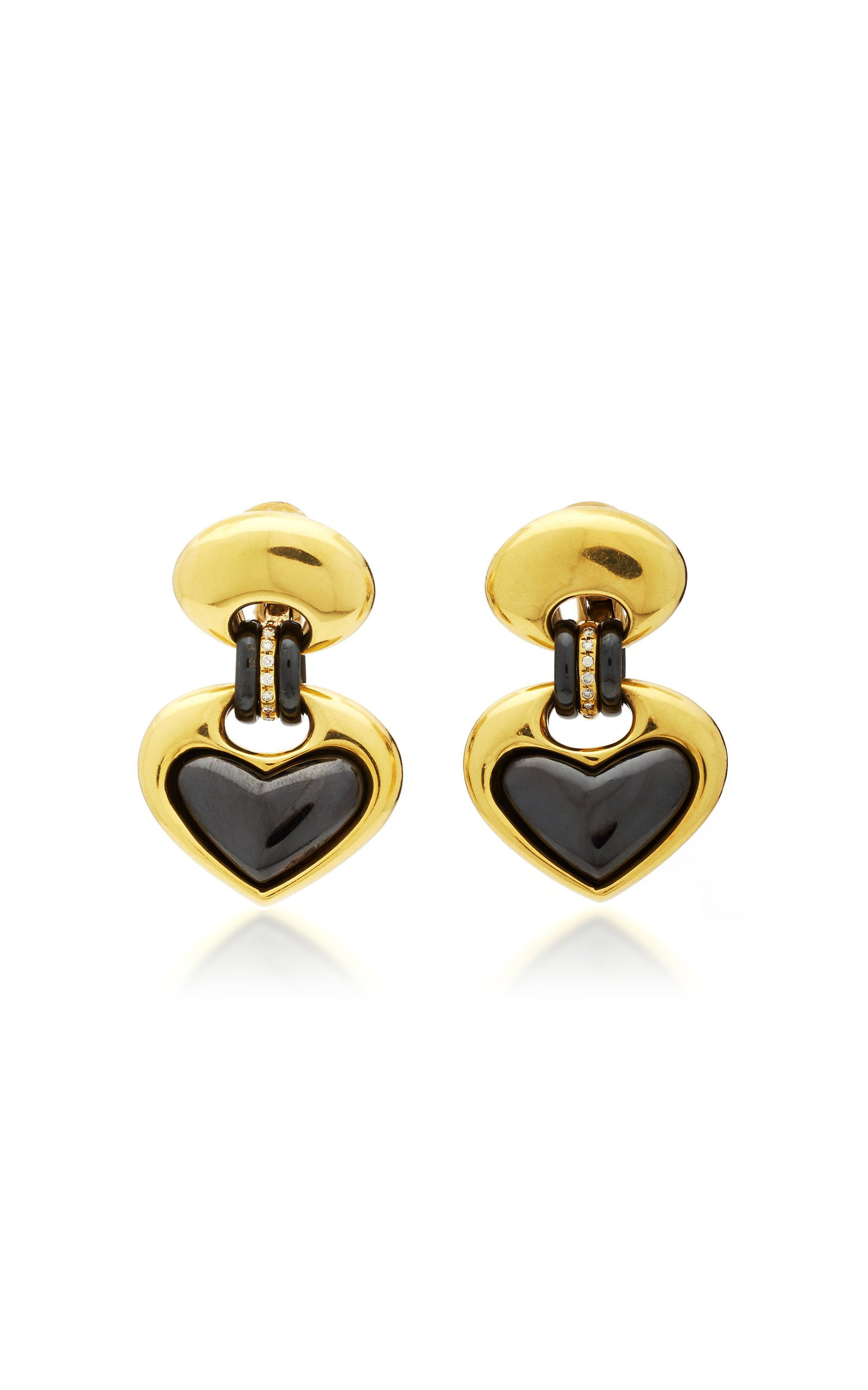 Eleuteri 18kt Gold and Diamond Earrings