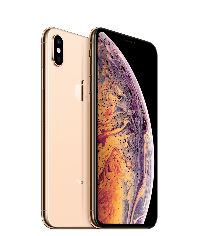 i phone x max gold