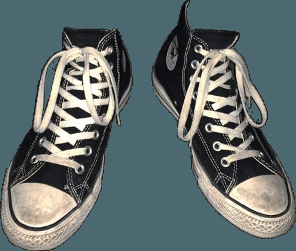 beat up dirty converse