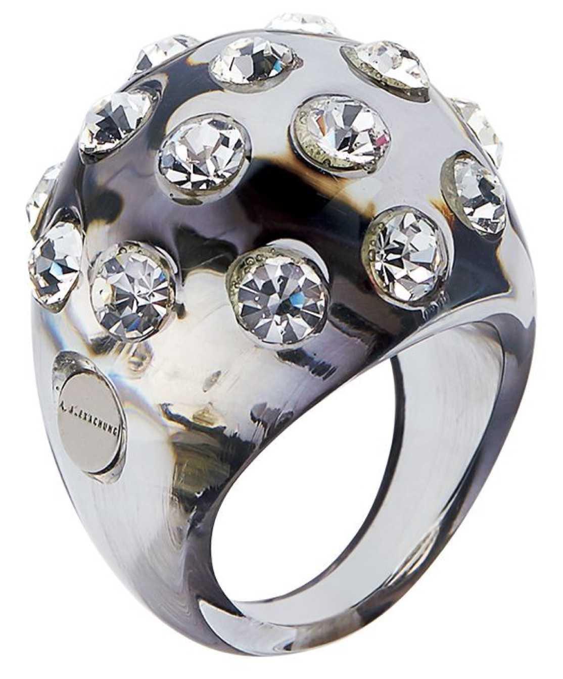 silver alexa chung ring