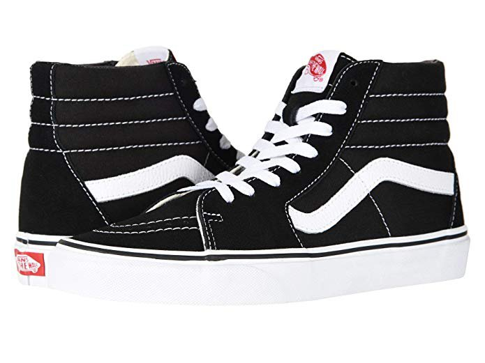 Amazon.com | Vans Unisex Adults' Sk8-hi Slim Hi-Top Sneakers | Skateboarding
