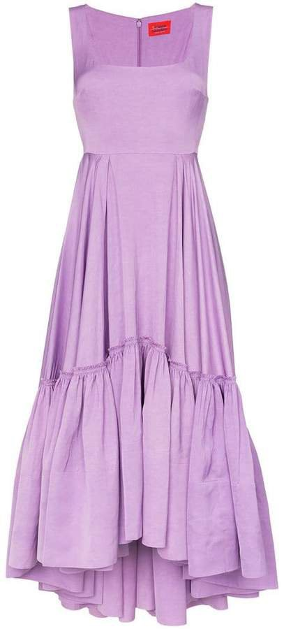 Haye tiered midi-dress