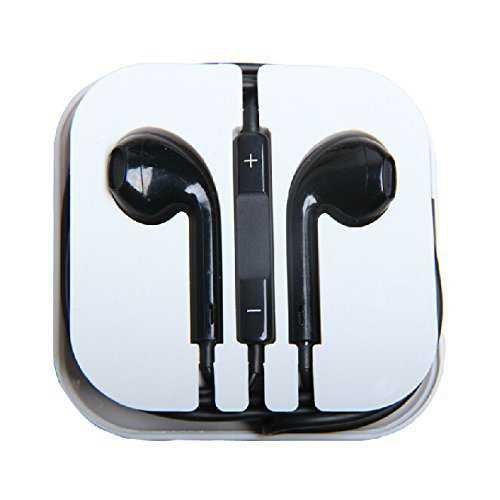 black apple earbuds