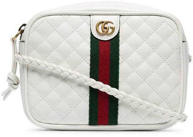 white GG small quilted-leather shoulder bag