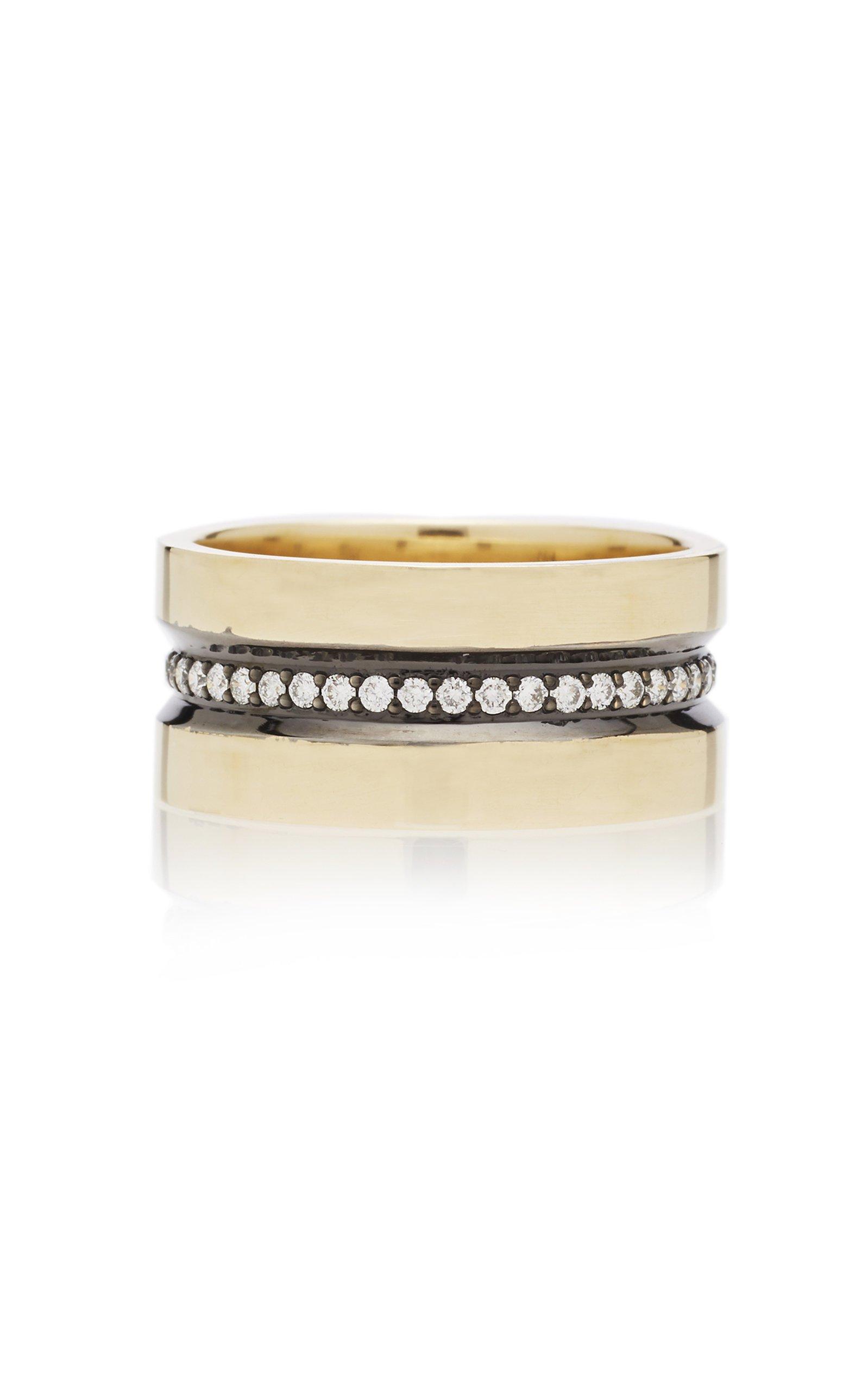 Nancy Newberg Horizontal striped ring