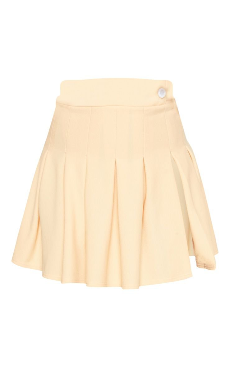 Fawn Pleated Side Split Tennis Skirt | Skirts | PrettyLittleThing USA