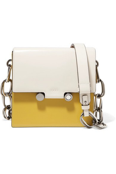Marni | box leather shoulder bag