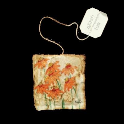 daisy tea bag