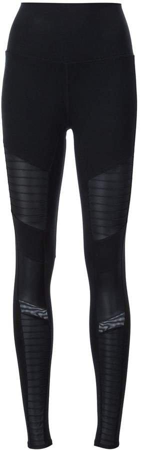 high waisted moto leggings