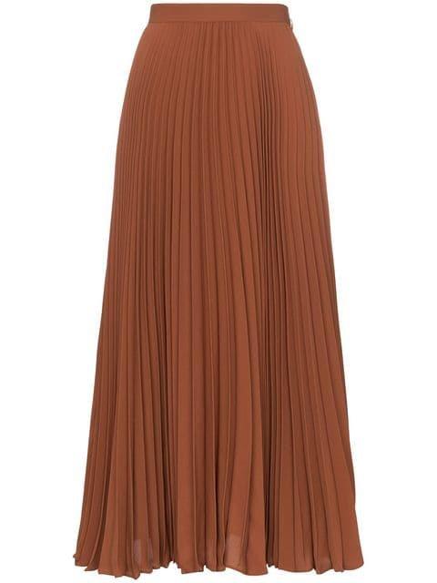 Valentino high-waisted midi skirt