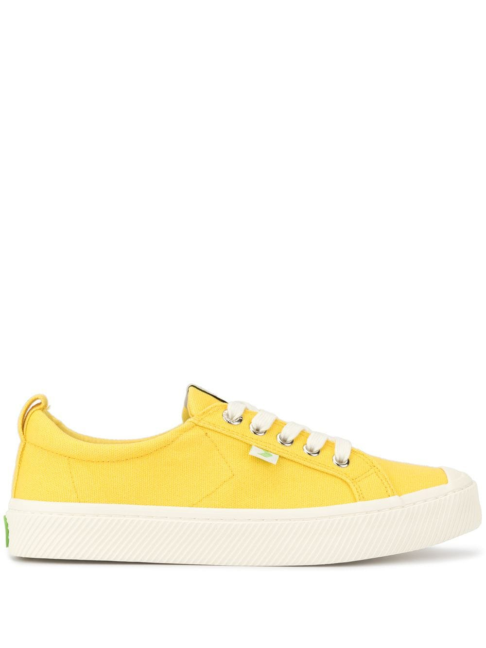 Cariuma Oca Low Yellow Canvas Sneakers