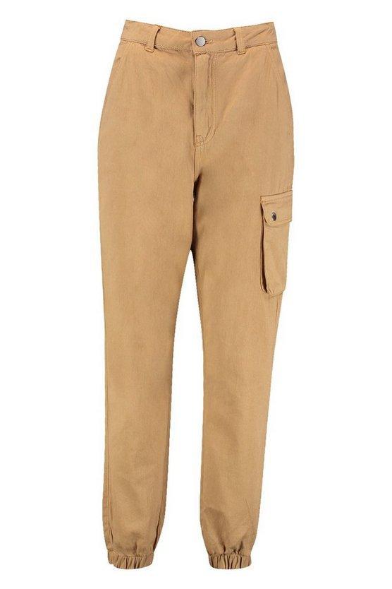 Petite Pocket Detail Cargo Pants   Boohoo
