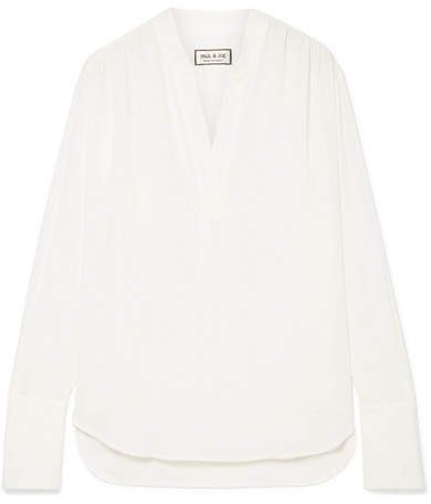 Crepe Blouse - Off-white