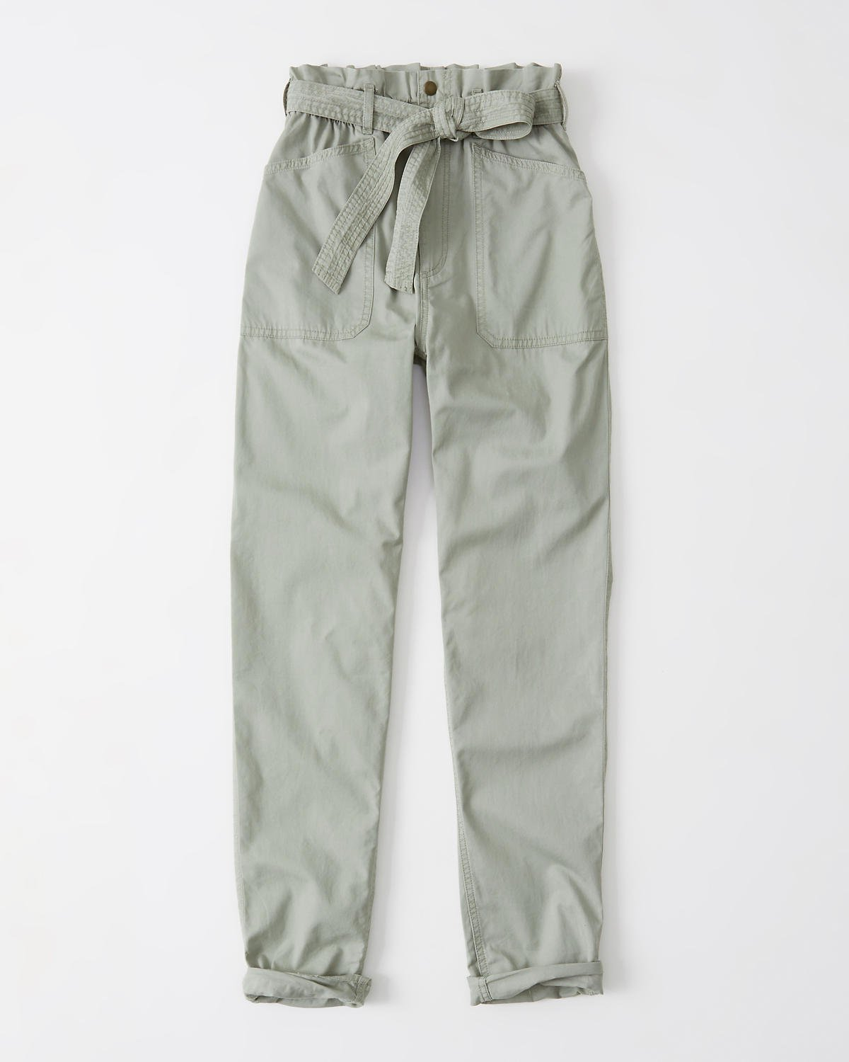 Belted Ultra High rise Utility Pants