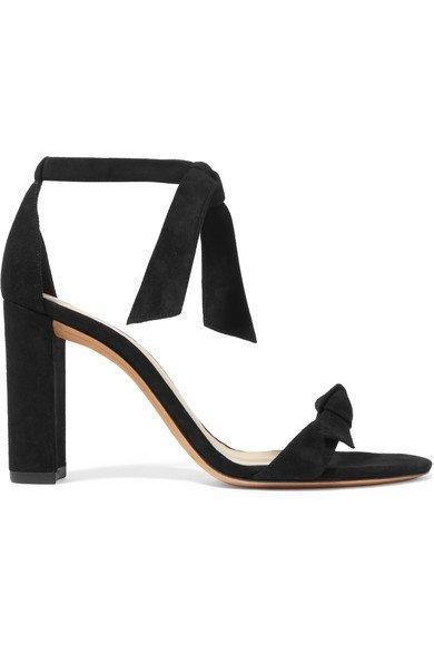 Alexandre Birman   Clarita bow-embellished suede sandals   NET-A-PORTER.COM