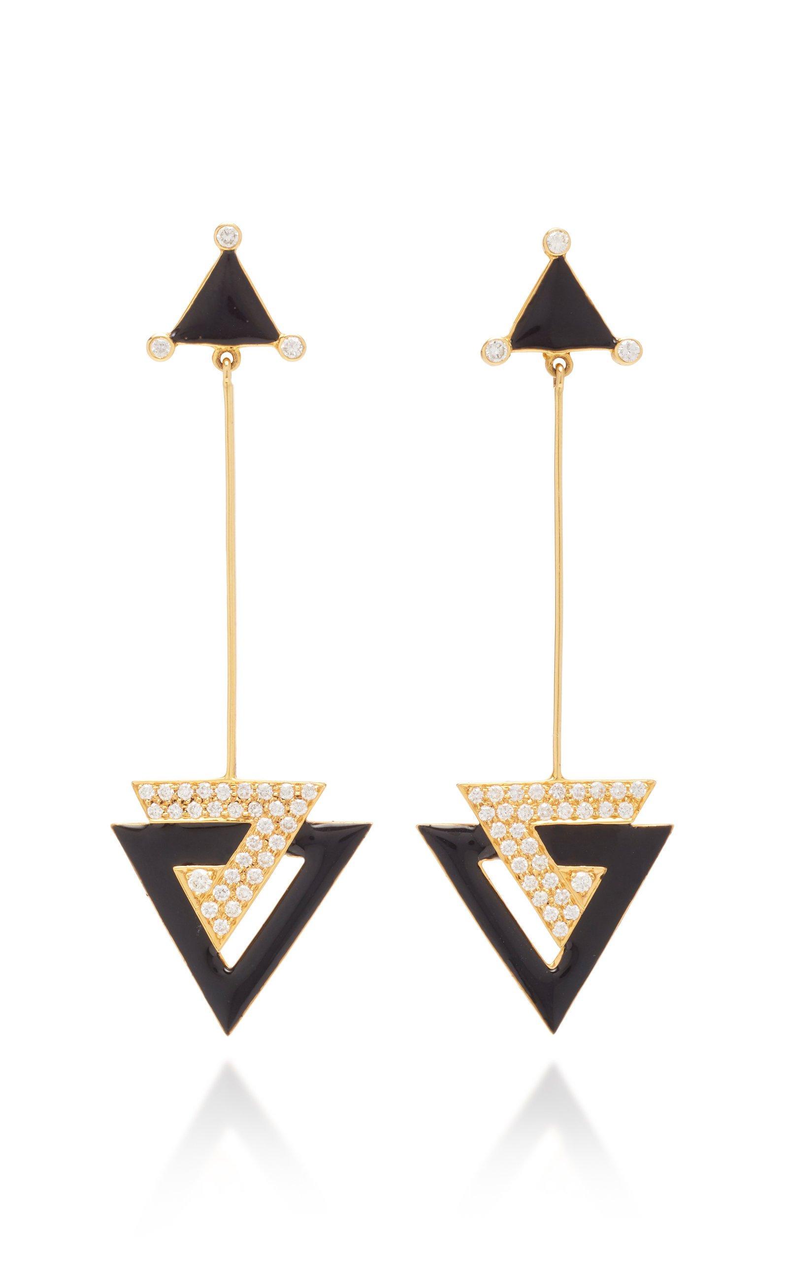 Hanut Singh Deco Triangles