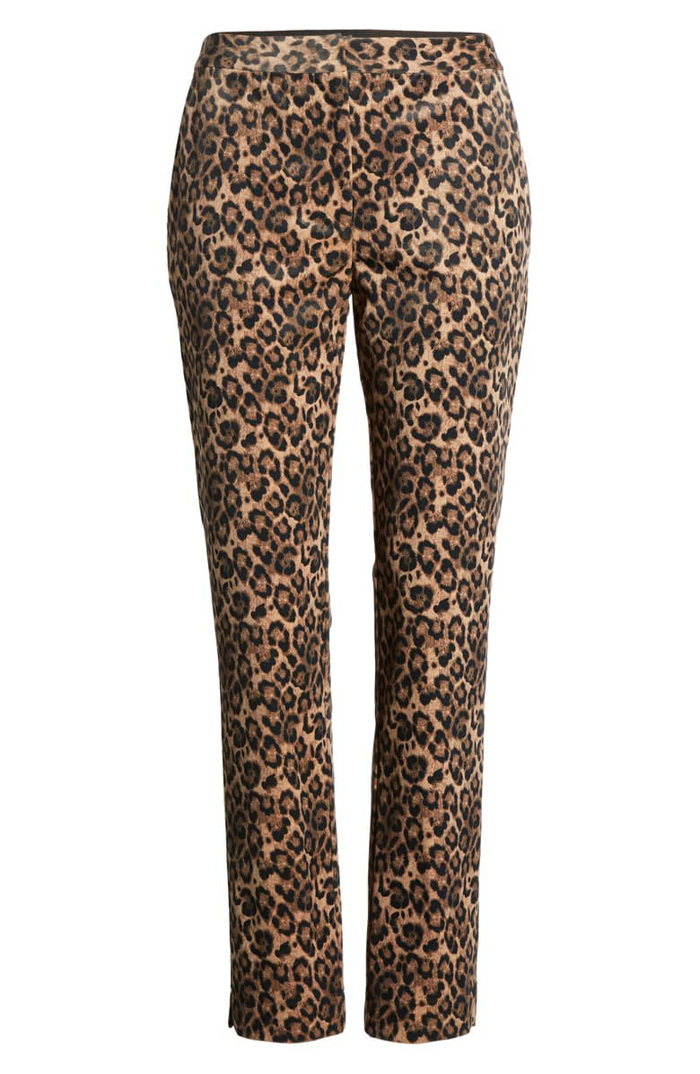 Gibson x Fall Refresh Fancy Ashley Tapered Pants Leopard