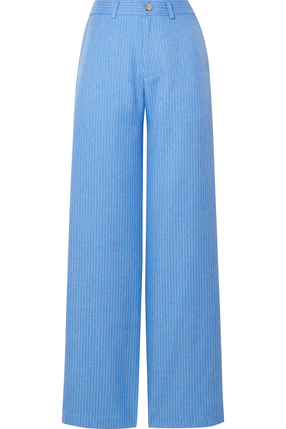 Maggie Marilyn | + NET SUSTAIN Go Getter pinstriped woven straight-leg pants | NET-A-PORTER.COM