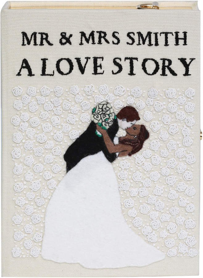 Olympia Le-Tan A Love Story Book Clutch