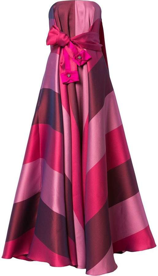 sleeve-belt strapless dress