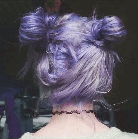 tumblr purple hair - Google Search
