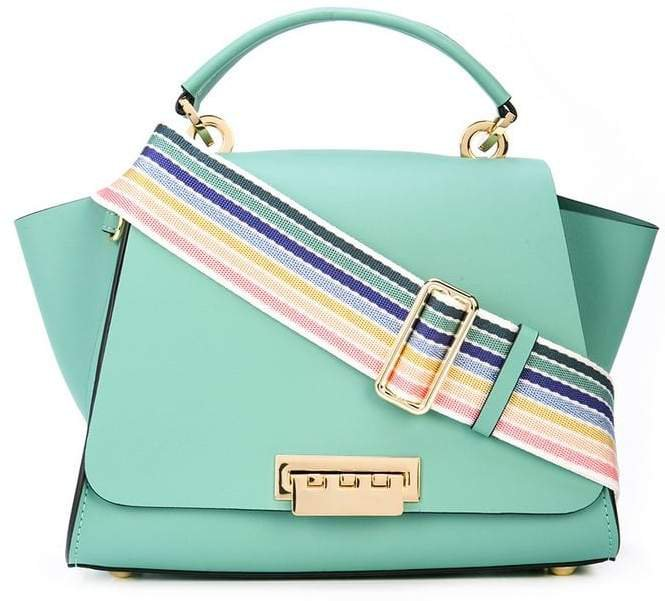 Eartha convertible backpack with rainbow strap
