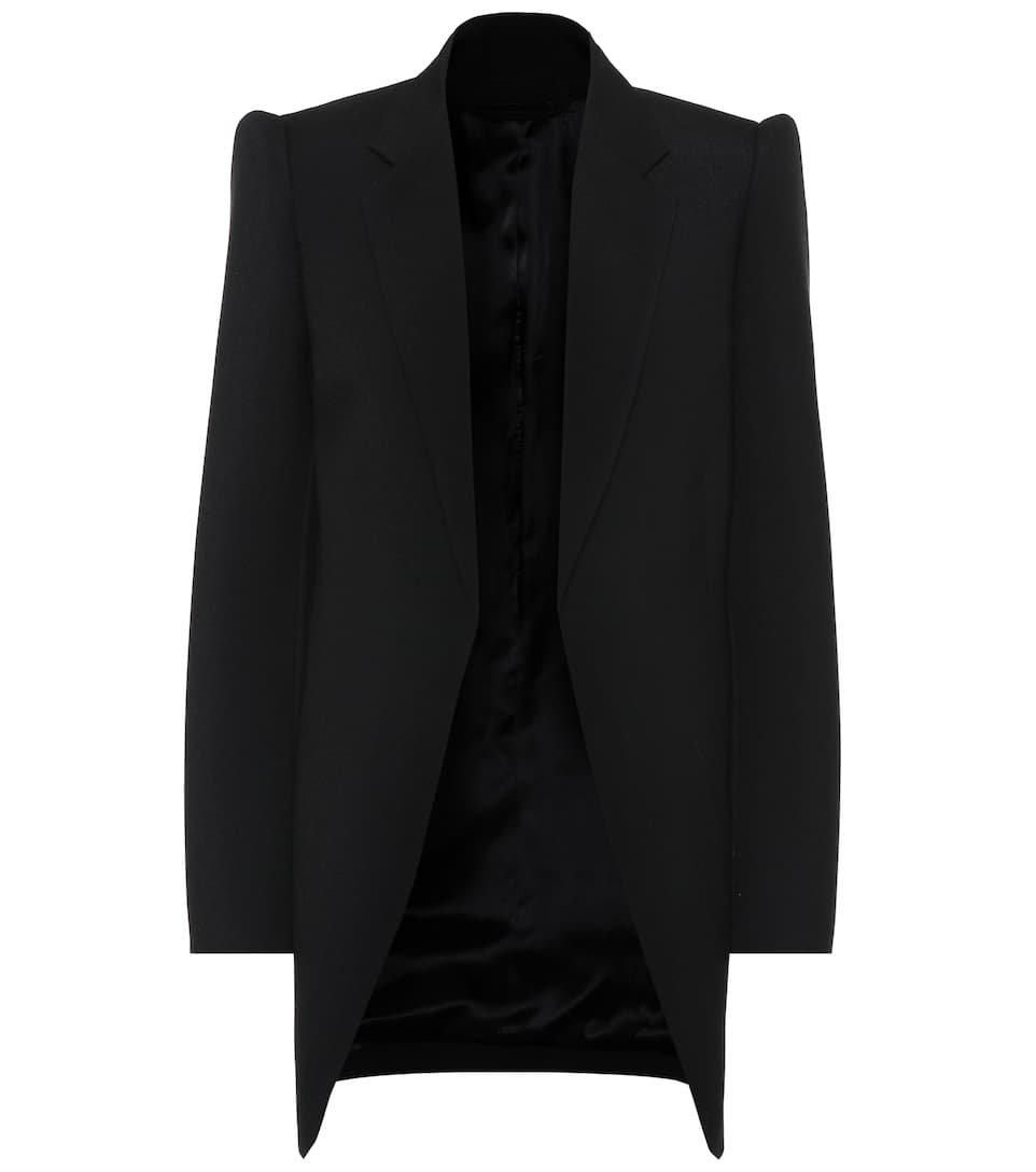 Balenciaga - Virgin wool blazer   Mytheresa
