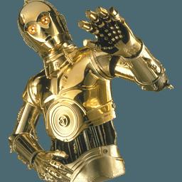 C3po Star Wars transparent PNG - StickPNG