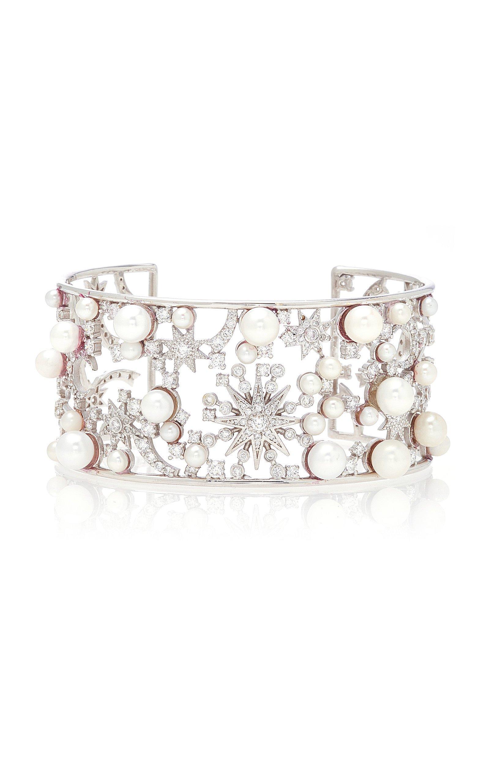 Colette Jewelry Star Pearl Cuff