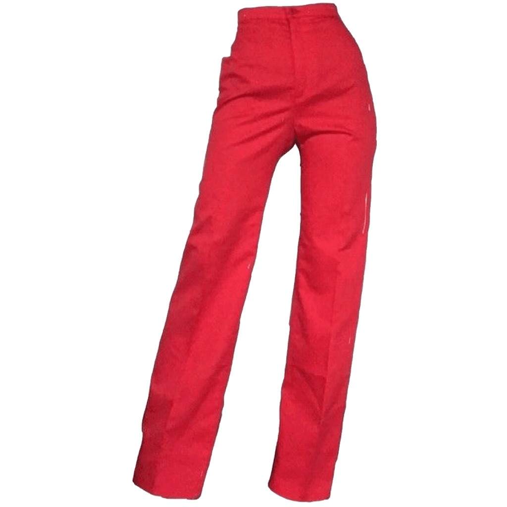 dress 90s red pants