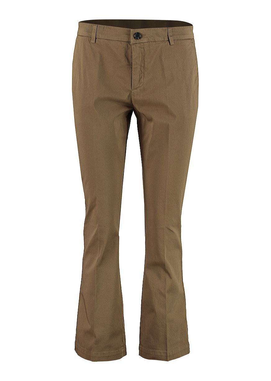 Department 5 Sax Flared Cropped Trousers