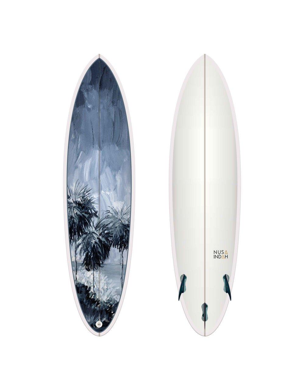 NUSA INDUH - Barefoot Beach Surfboard