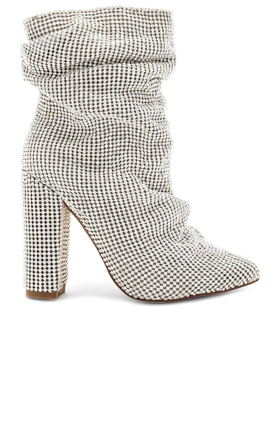 Crystal Chainmail Bootie