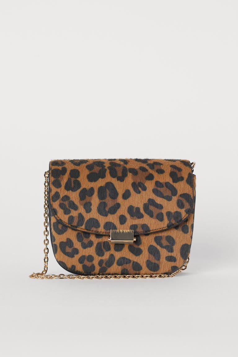 Small Shoulder Bag - Beige/leopard print - Ladies | H&M US