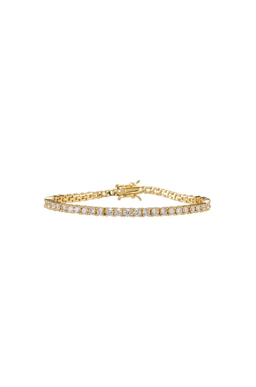 Clear Tennis Bracelet