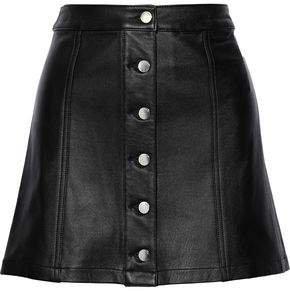 Rosie Leather Mini Skirt
