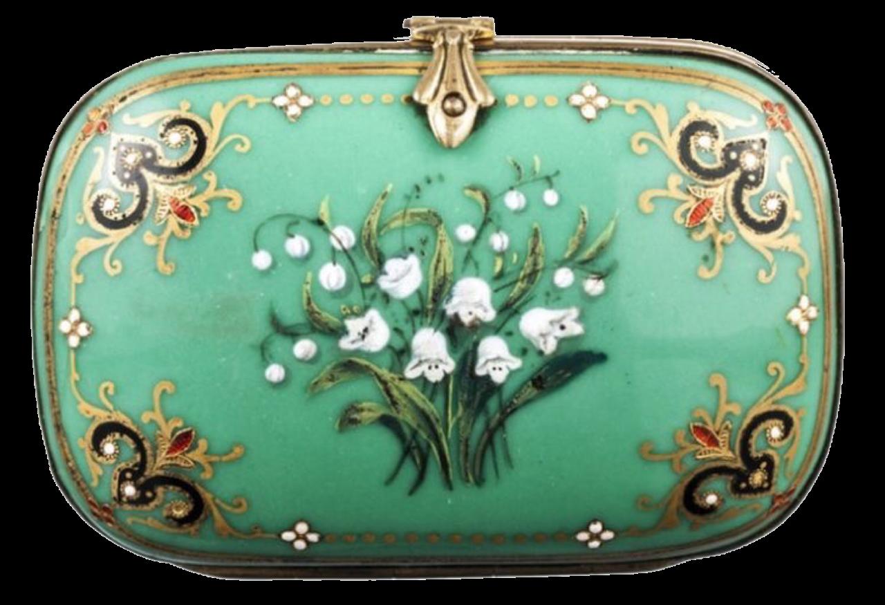 Green Vintage Box png