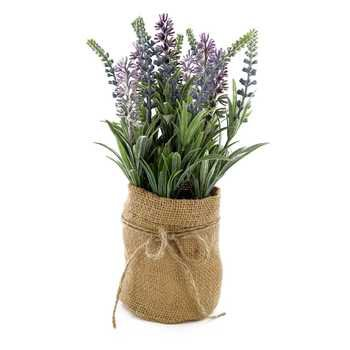 Lavender in Burlap Jar   Hobby Lobby   668434
