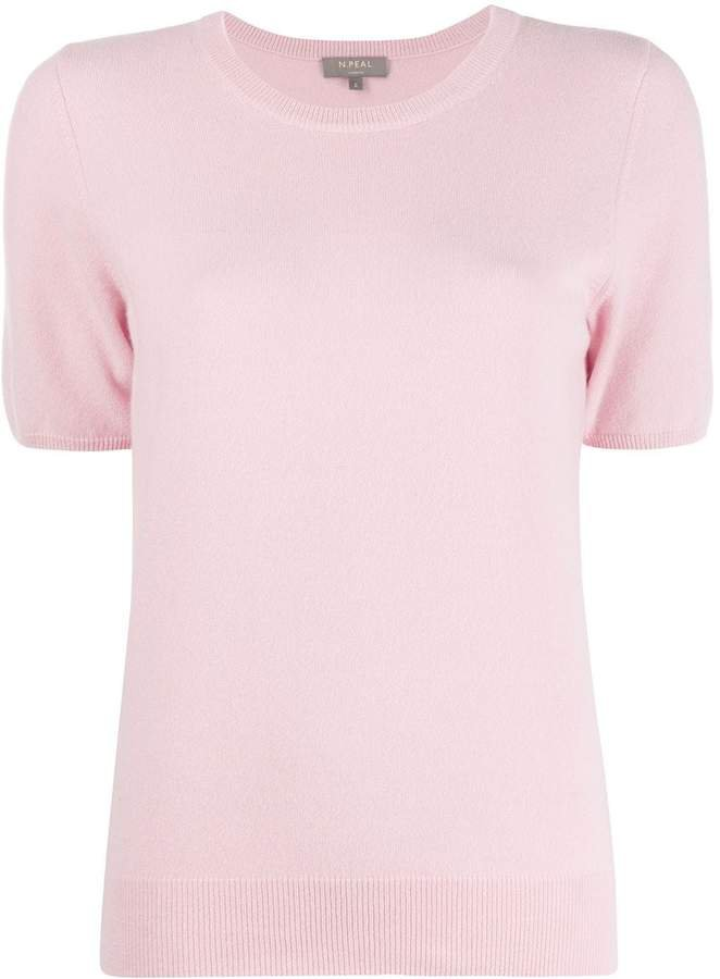 cashmere short-sleeved top