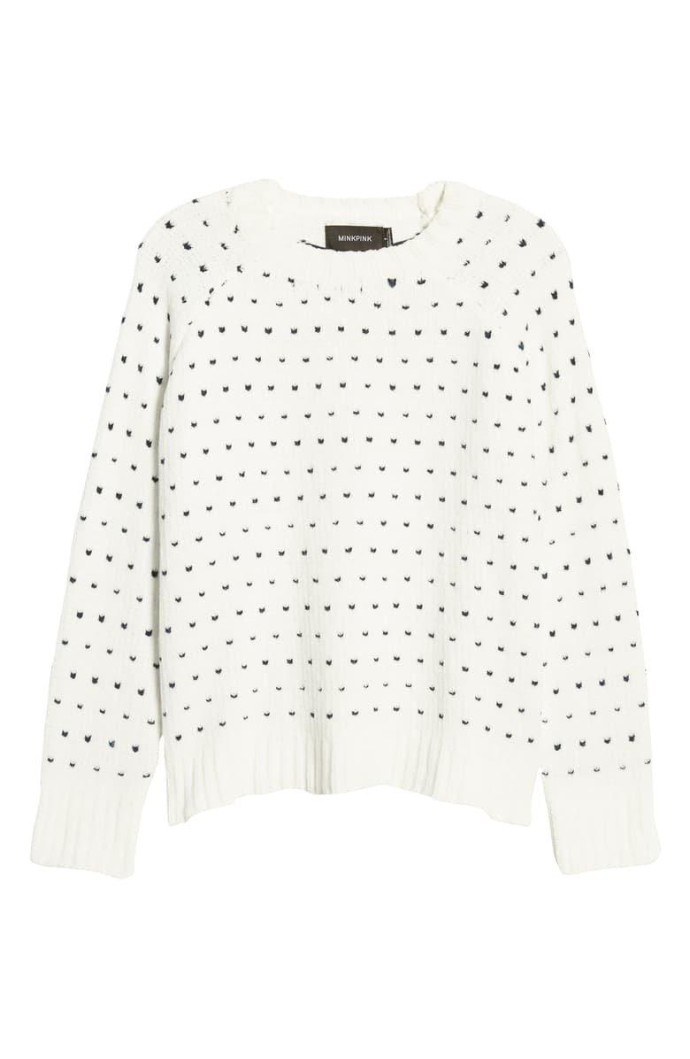 MINKPINK In Your Heart Sweater | Nordstrom