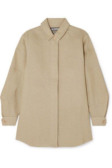 Jacquemus | Loya oversized silk shirt | NET-A-PORTER.COM