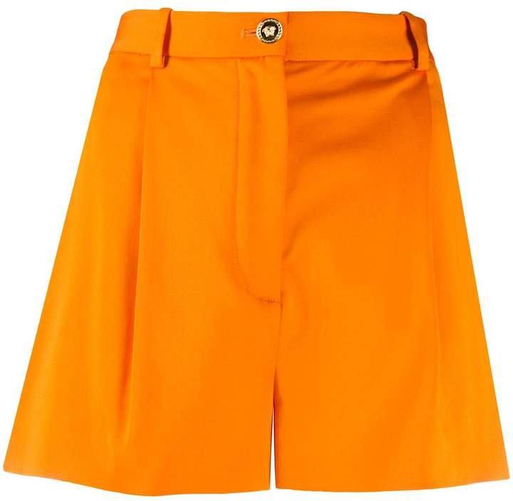 high-waisted shorts