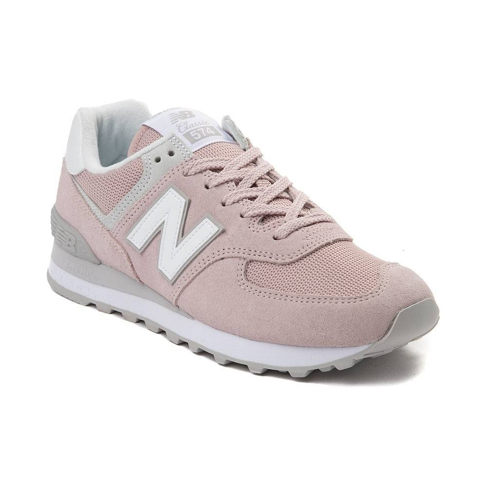 Womens New Balance 574 Classic Athletic Shoe - pink - 401658