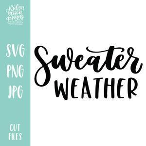 Cut File | Sweater Weather – JordynAlisonDesigns
