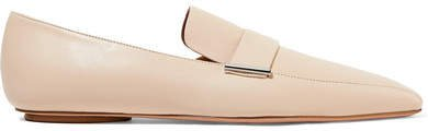 Leather Loafers - Neutral